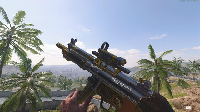 Cold War MP5 Warzone Best Guns