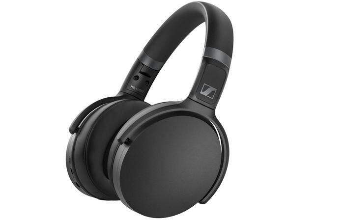 best wireless headphones, image of black over-ear headphones