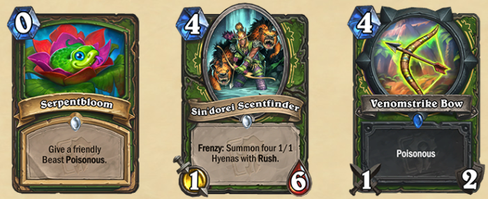 The new Hunter cards.