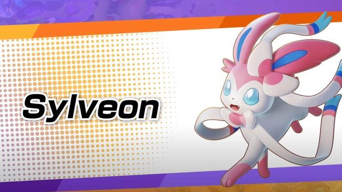 Sylveon in Pokémon Unite.