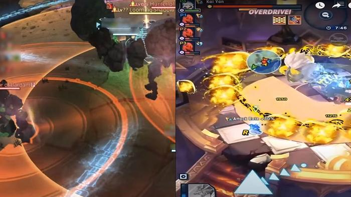 Dragalia Lost and Final Fantasy XIV have very similar battle structures.