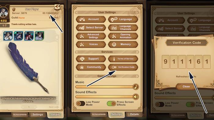 A step-by-step guide showing how to redeem codes in AFK Arena.