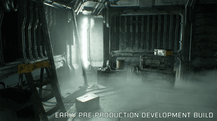 Image showing dead space remake early build