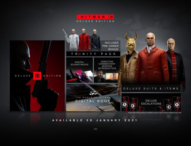 Everything included in the Deluxe Edition.