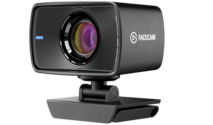 best webcam, product image of a grey rectangular webcam for streaming