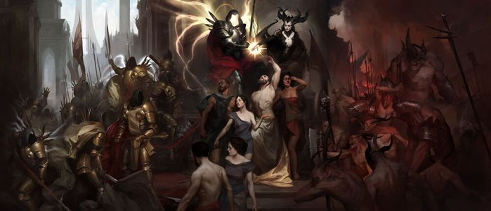 Diablo 4 Creation mural