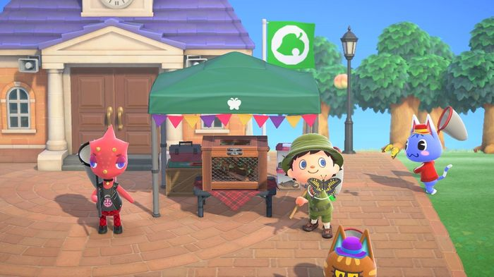 Animal Crossing: New Horizons Bug Off Event