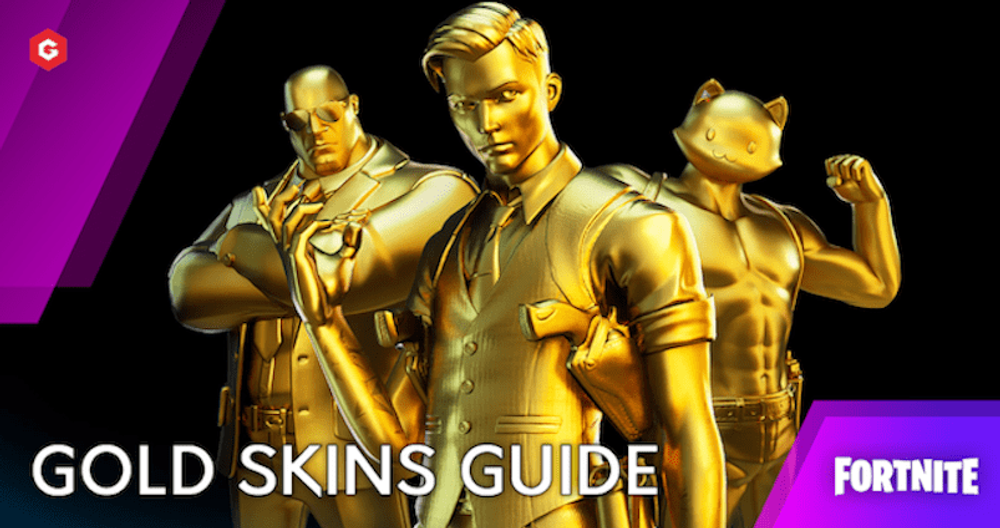 Fortnite Chapter 2 Season 6: How To Get Gold Skins