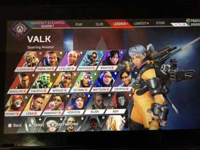 Apex Legends Valk