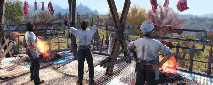 Fallout 76 Meat Week Fun