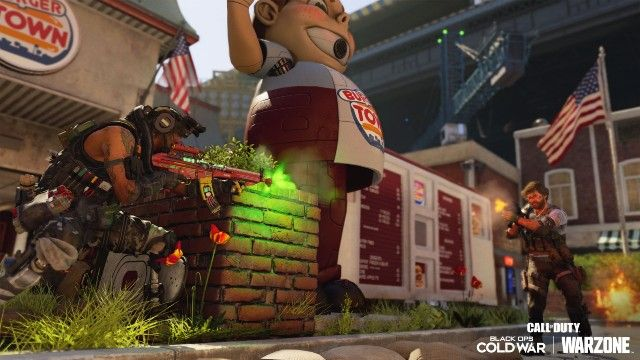 Black Ops Cold War Amerika Multiplayer Map