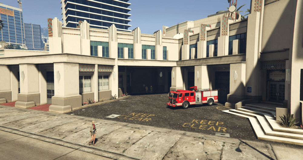 Where Is The Fire Station In GTA Online?