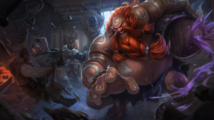 Gragas is one of the best champions on the Wild Rift tier list.