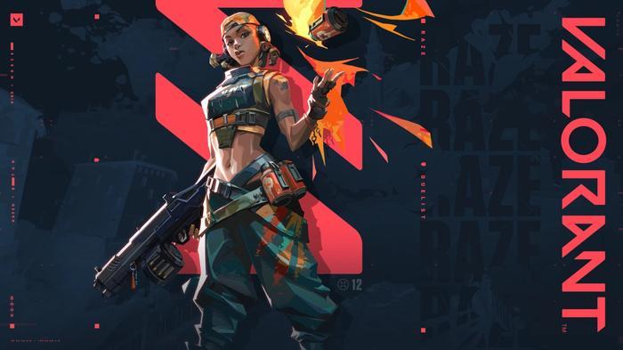 Valorant - Raze (Image via Riot Games)