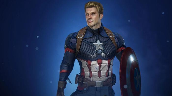 Captain America in Marvel Future Revolution.
