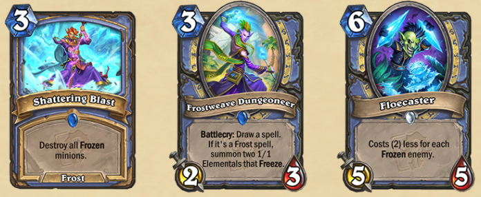 The new Mage cards.