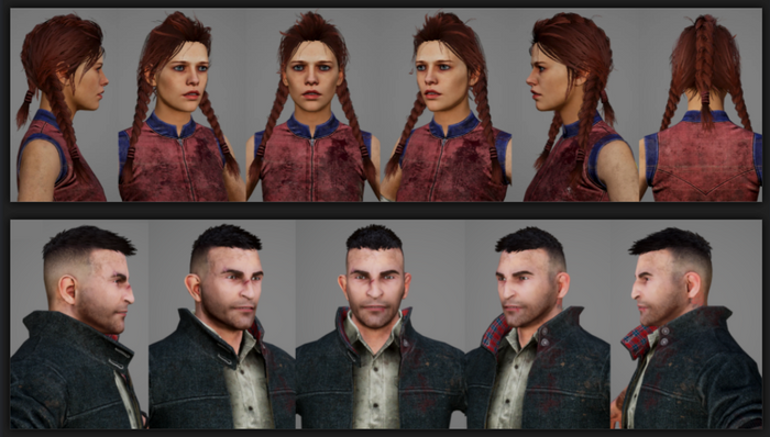 Dead by Daylight Realm Beyond Character Model Updates