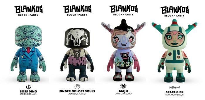Blankos figures