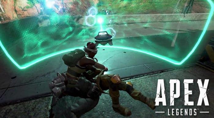 Apex Legends lifeline reviving teammate