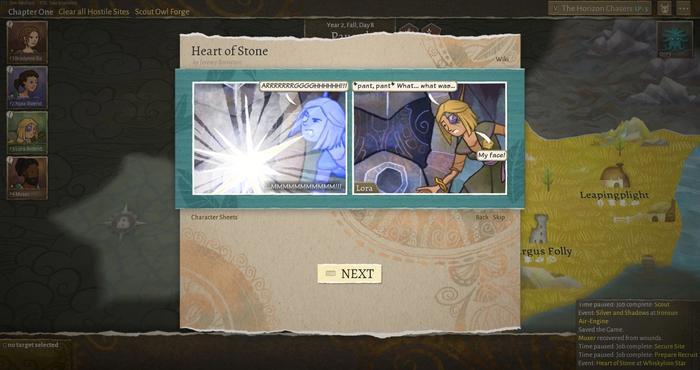 Wildermyth review random encounter