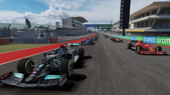 F1 Mobile Racing is one of the best Android racing games around.