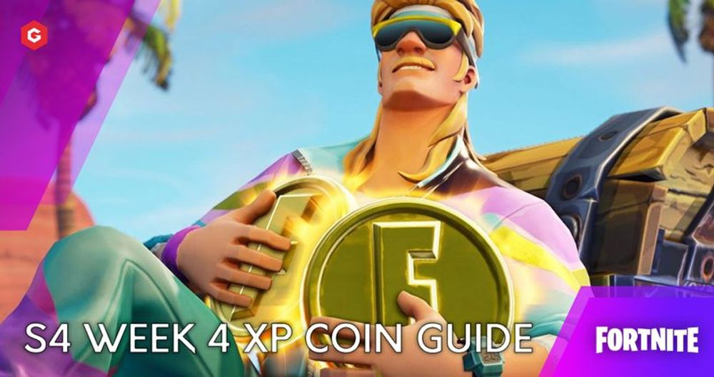 Fortnite Chapter 2 Season 4: Week 4 XP Coin Locations And Guide