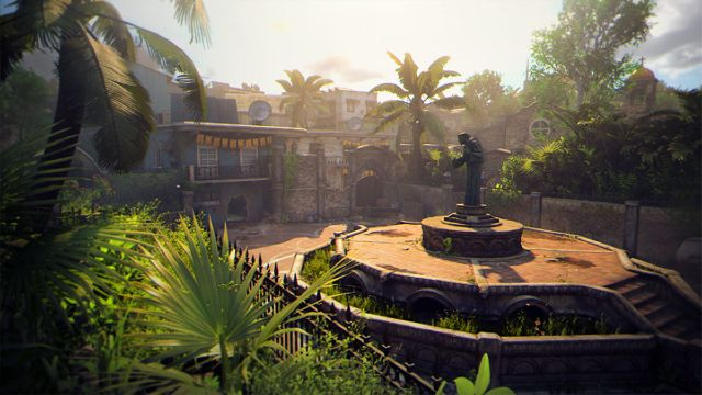 Overview Of The Statue From Slums Black Ops Map