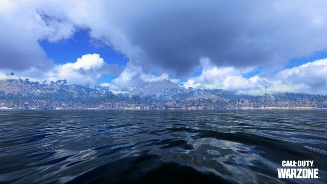 View of Warzone Pacific Map From Water
