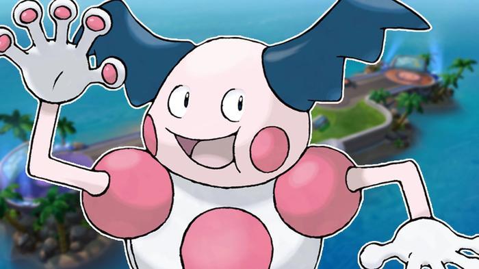 Mr. Mime in Pokémon Unite.
