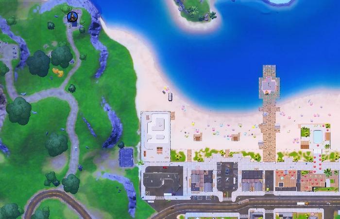 Fortnite map Rebirth Raven location