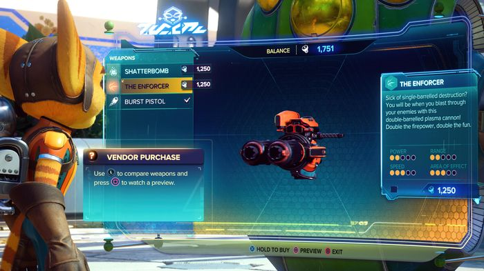 Ratchet and Clank Rift Apart best weapon upgrade
