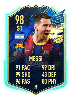 MESSI! Could we see another Lionel Messi card arrive?