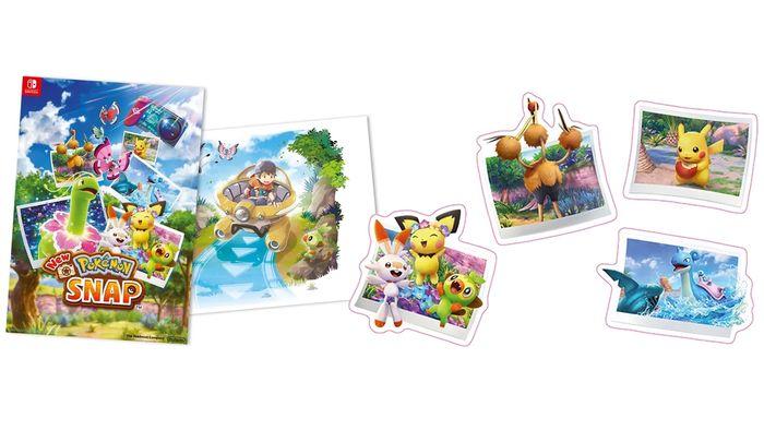 pokemon snap pre-order bonuses