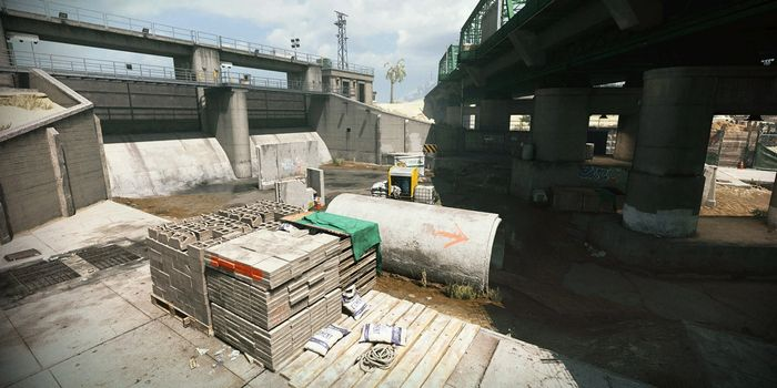Drainage gunfight map modern warfare disappeared