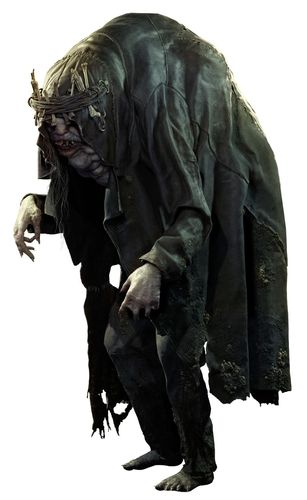 Image depicting one of resident evil village's boss characters