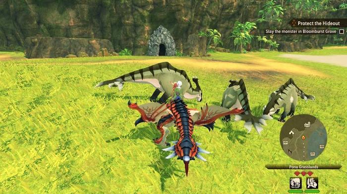 An Aptonoh in Monster Hunter Stories 2
