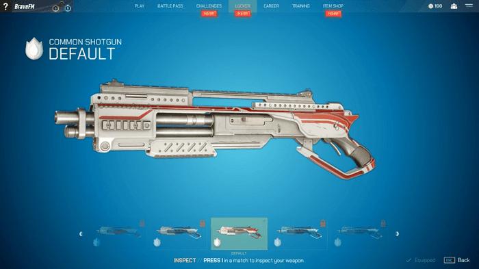 Image showing Splitgate shotgun
