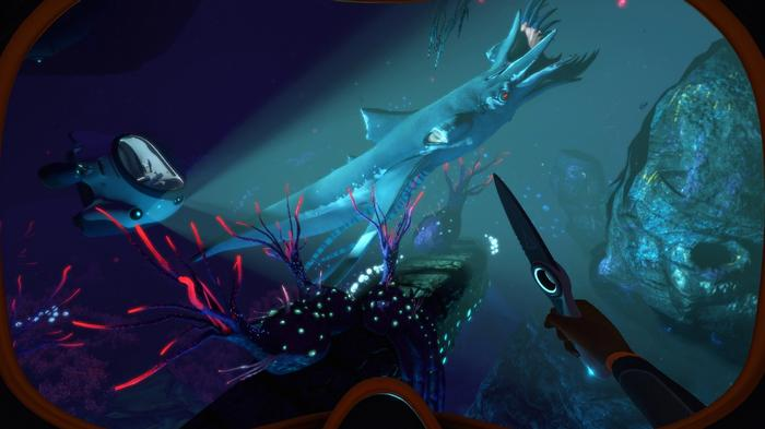 Subnautica Below Zero deep sea leviathan