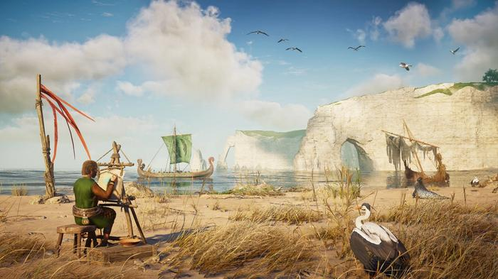 New screenshot from Assassin's Creed Valhalla: Siege of Paris DLC