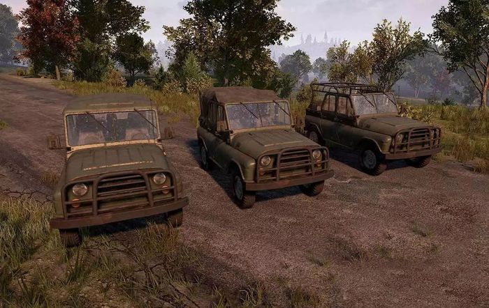 The armored UAZ in PUBG.