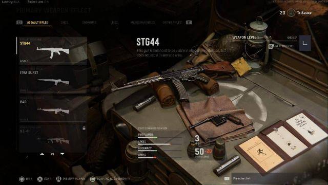 COD Vanguard best Assault Rifle STG44