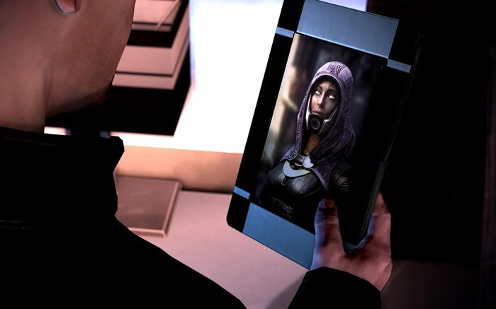 The new picture of Tali for Mass Effect 3. It looks pretty cool