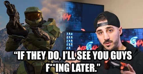 NickMercs says he would leave Call of Duty for a Halo Infinite Battle Royale