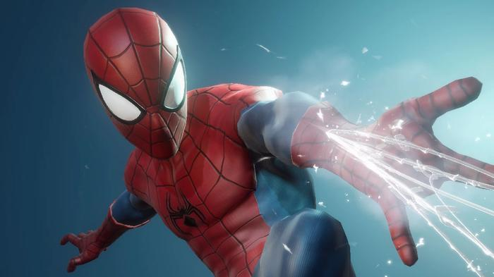 Spider-Man, a good PvP character, in Marvel Future Revolution.