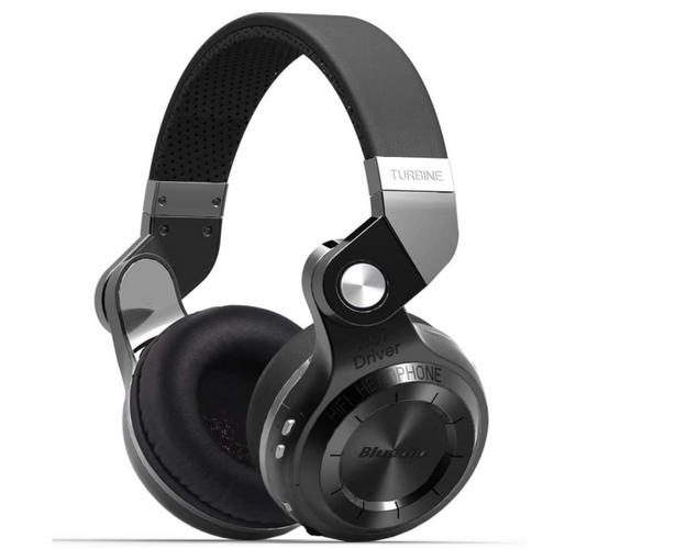 best budget wireless headphones, product black and silver headphones