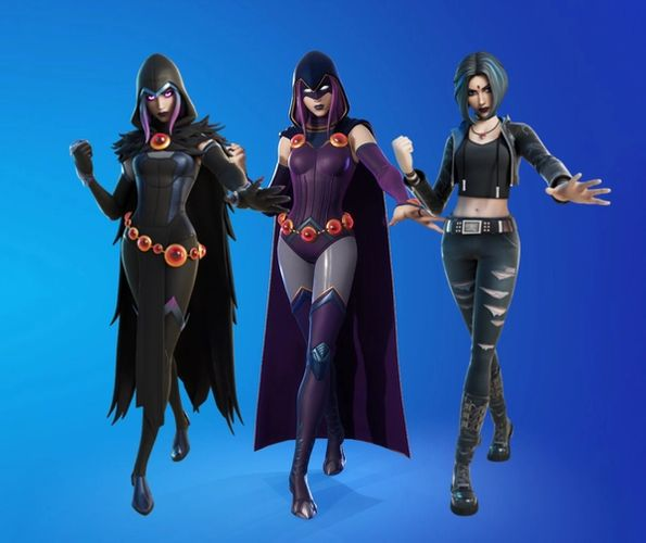 Fortnite Rebirth Raven outfits