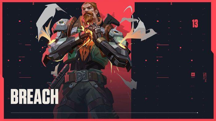 Valorant - Breach (Image via Riot Games)
