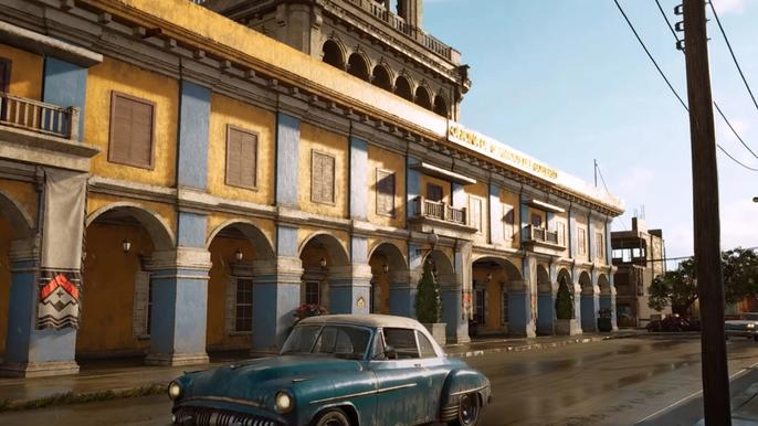 Far Cry 6's El Este, a peek at the architecture of the region, comprised of La Moral and Legends of '67.