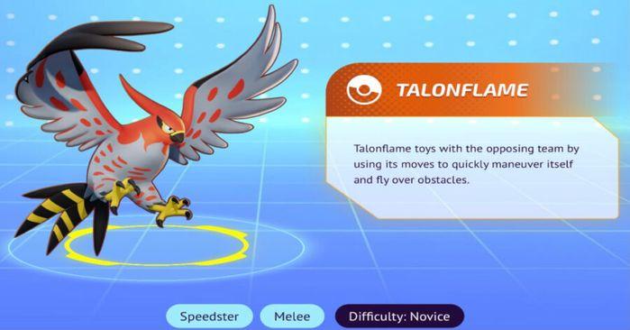 Talonflame in Pokémon Unite