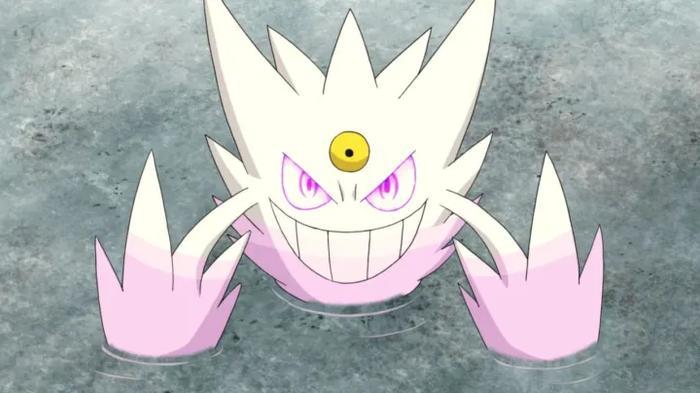 Mega Gengar as seen in the Pokemon anime.